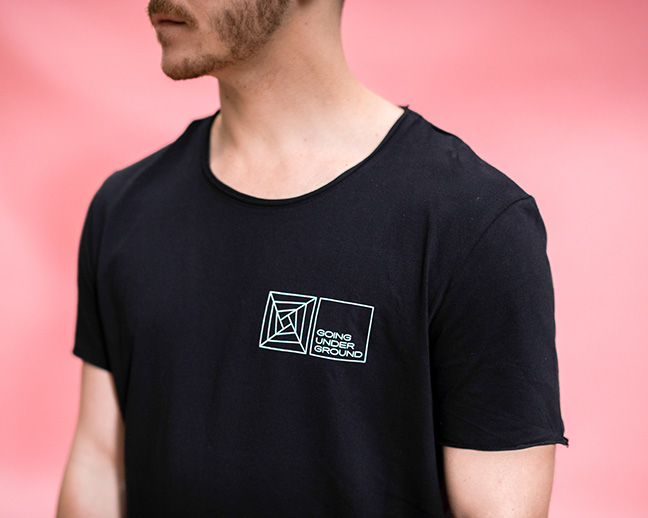 Man TECHNO t-shirt